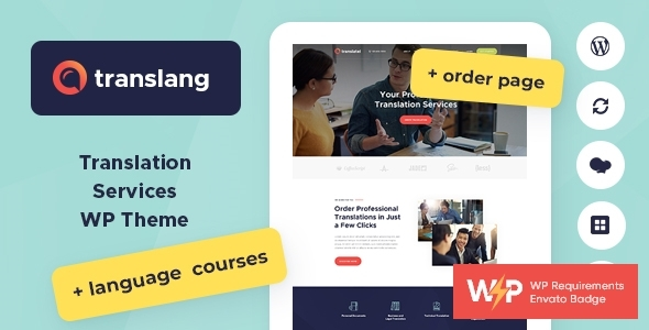 Translang | Translation Products and services & Language Applications WordPress Theme – WP Theme Download