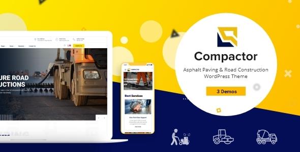 Compactor – Boulevard Improvement WordPress Theme – WP Theme Download