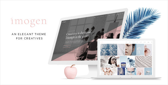 Imogen – Theme for Designers and Inventive Firms – WP Theme Download