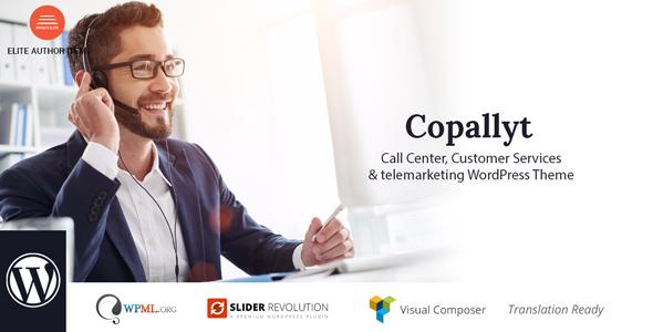 Copallyt : Name Center & Telemarketing WordPress Theme – WP Theme Download