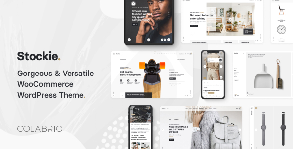 Stockie – Unusual Multi-Design WooCommerce Theme – WP Theme Download