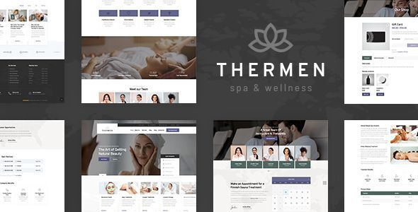 Thermen – Class Spa & Wellness Heart WordPress Theme  – WP Theme Download