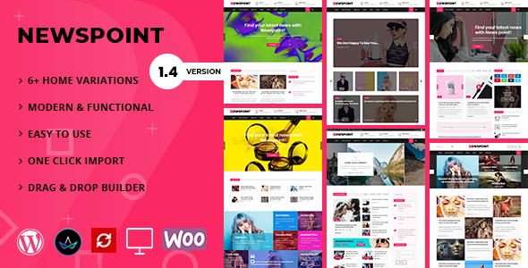 Newspoint – Blogging WordPress Theme  – WP Theme Download
