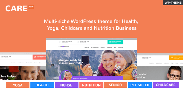 Care – Multi-Niche WordPress Theme for Exiguous Industry – WP Theme Download