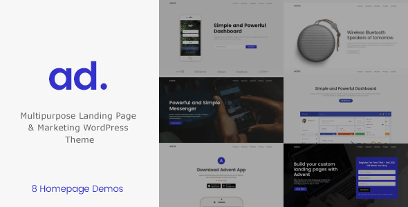 Introduction – Product | APP Landing Page WordPress Theme  – WP Theme Download