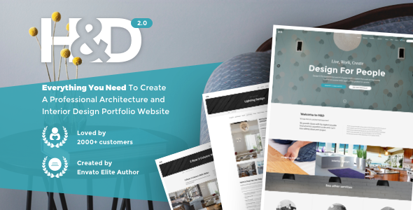 H&D 2.0 – Interior Find WordPress Theme – WP Theme Download