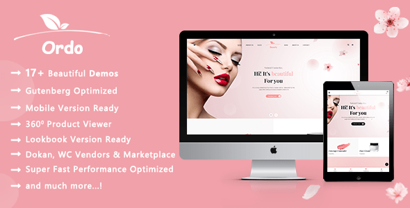 Ordo | Pure Cosmetic WooCommerce WordPress Theme – WP Theme Download