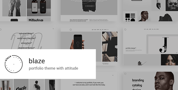 Blaze – Portfolio Theme – WP Theme Download