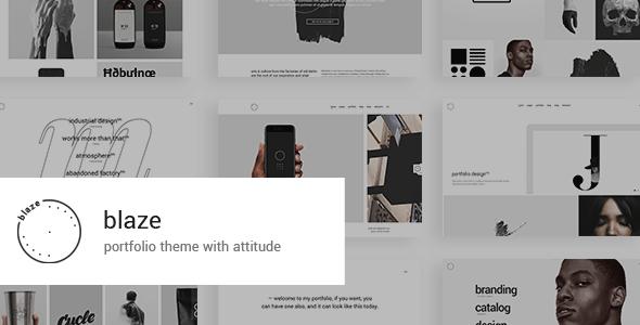 Blaze – Portfolio Theme  – WP Theme Download