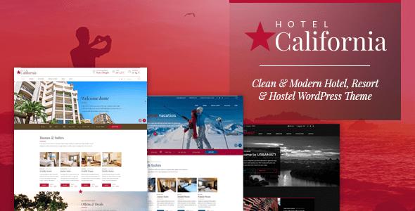California – Resort & Resort – WP Theme Download