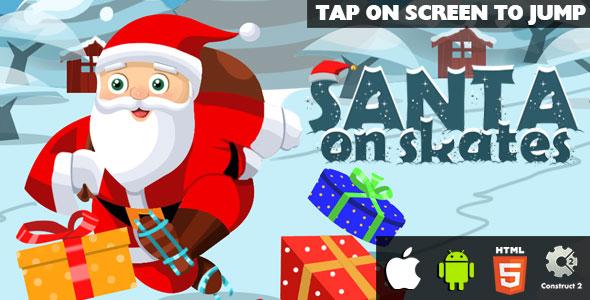 Santa On Skates – HTML5 Sport (CAPX) – PHP Script Download