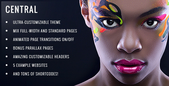 Central – Versatile, Multi-Purpose WordPress Theme – WP Theme Download