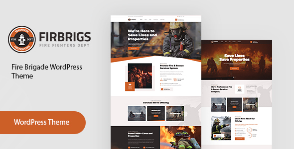 Firbrigs – Hearth Department WordPress Theme – WP Theme Download