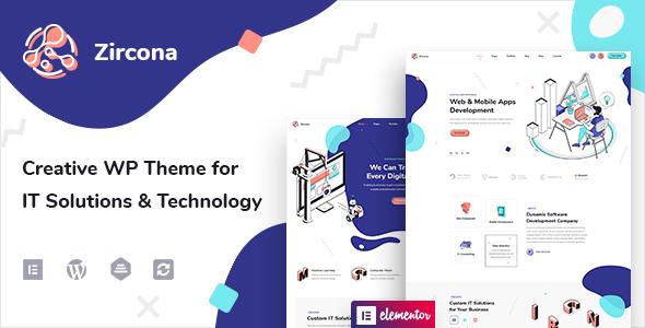 Zircona – IT Recommendations & Technology WordPress Theme – WP Theme Download
