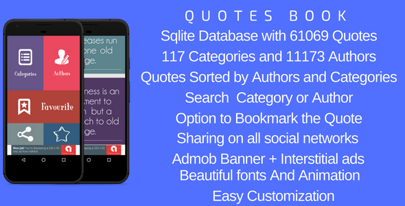 Quotes skilled – For Android – PHP Script Download