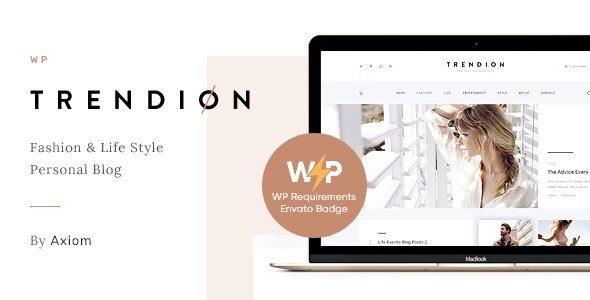 Trendion | A Deepest Standard of living Weblog and Magazine WordPress Theme – WP Theme Download