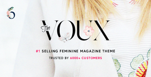 The Voux – A Complete Journal WordPress Theme  – WP Theme Download