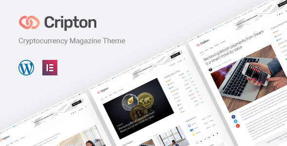 Cripton | Cryptocurrency Elementor Journal WordPress Theme – WP Theme Download