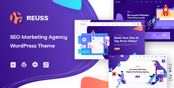 Reuss – web thunder online positioning Marketing and marketing Company WordPress Theme – WP Theme Download