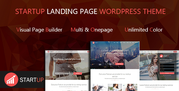 Startups Multi Notion Landing Page WordPress Theme – WP Theme Download