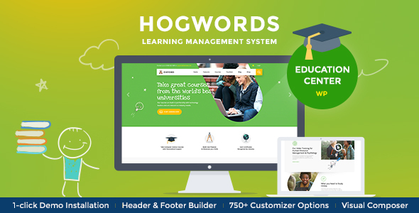 Hogwords | College, College & Training Center WordPress Theme – WP Theme Download