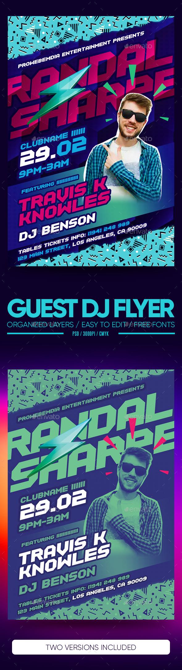 Flyers PSD – Customer DJ Flyer – Download