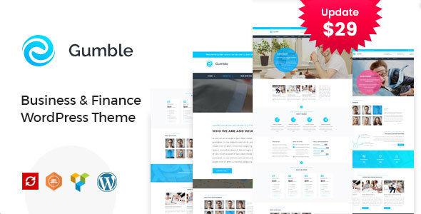 Gumble – Industry and Finance WordPress Theme – WP Theme Download