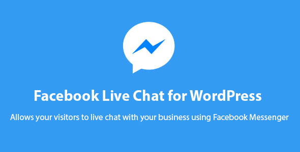 Fb Messenger Dwell Chat for WordPress – PHP Script Download