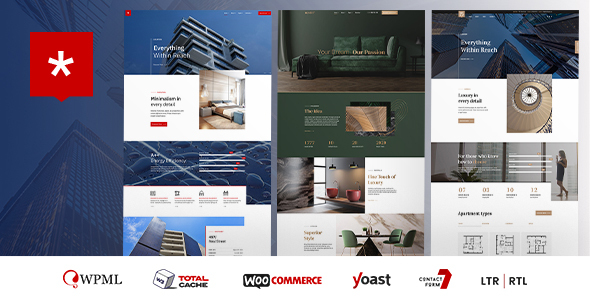 Nestin – Staunch Property & Single Property  – WP Theme Download