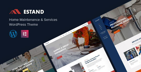 Estand | Home Maintenance WordPress Theme  – WP Theme Download