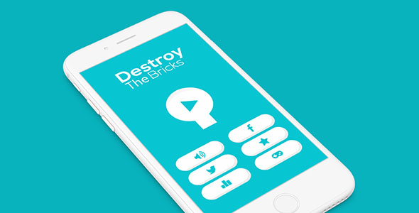 DESTROY THE BRICK WITH ADMOB – IOS XCODE FILE  – PHP Script Download