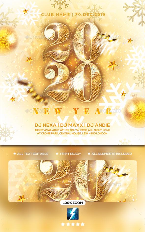 Flyers PSD – Fresh 365 days Celebration Flyer  – Download