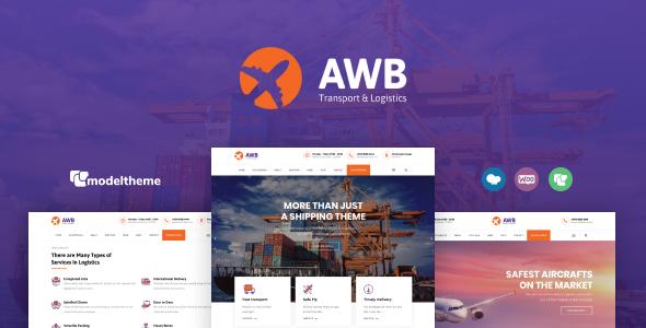 AWB – Transport & Logistics WordPress Theme  – WP Theme Download