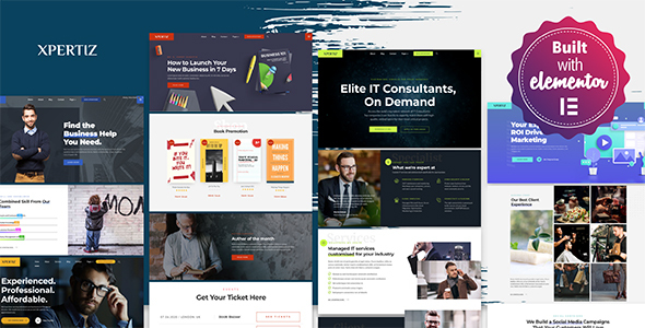 Xpertiz – WordPress Theme For Advisors And Experts  – WP Theme Download