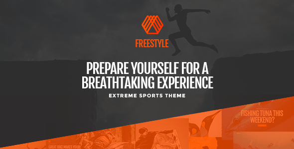Freestyle – A WordPress Theme For Outrageous Sports  – WP Theme Download