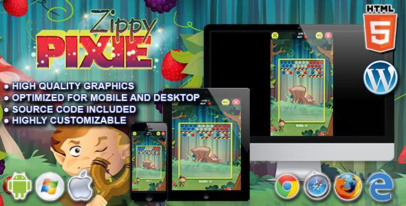 Zippy Pixie – HTML5 Puzzle Sport  – PHP Script Download