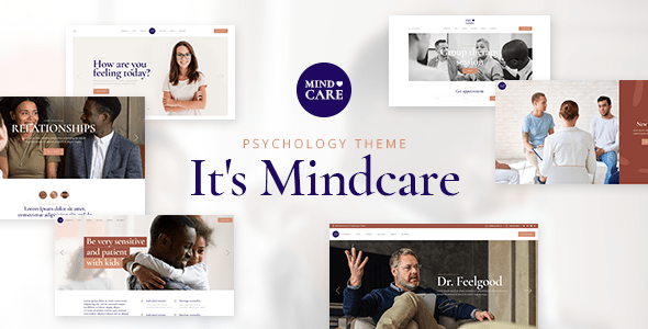 MindCare – Psychology and Counseling Theme  – WP Theme Download