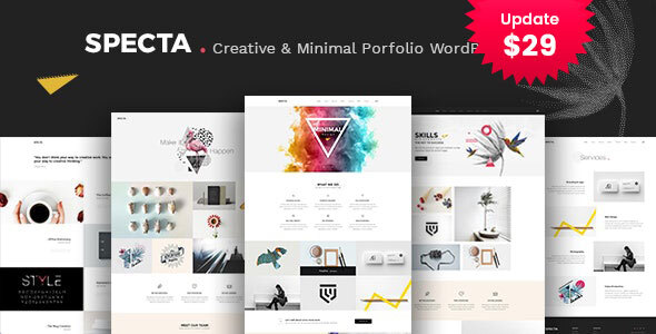 Specta – Multipurpose Portfolio WordPress Theme  – WP Theme Download