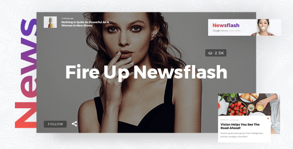 Newsflash – News Journal Theme  – WP Theme Download