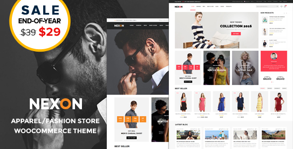Nexon – Attire Store Multipurpose Responsive WooCommerce WordPress Theme  – WP Theme Download