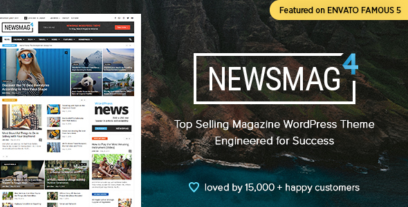 Newsmag – Newspaper & Journal WordPress Theme – WP Theme Download