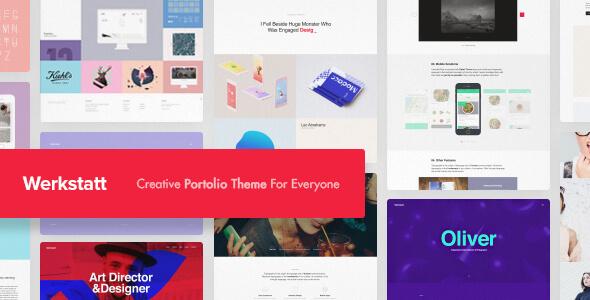 Werkstatt – Inventive Portfolio WordPress Theme – WP Theme Download