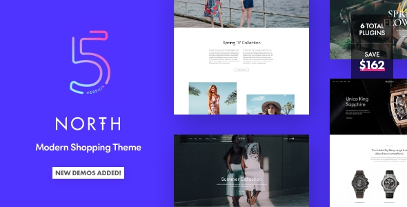 North – Responsive WooCommerce Theme – WP Theme Download
