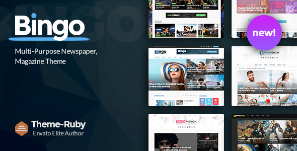 Bingo – Multi-Aim Newspaper & Journal Theme – WP Theme Download
