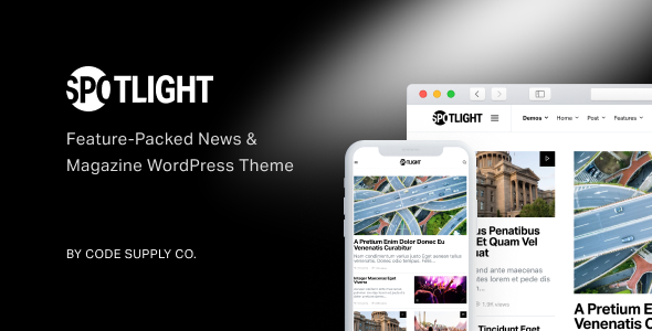 spotlight characteristic packed recordsdata journal wordpress theme download
