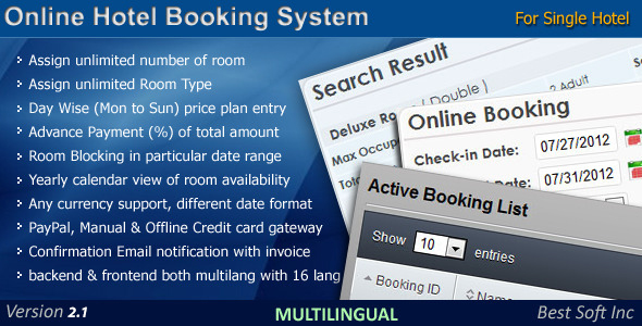 On-line Hotel Reserving Machine – Download