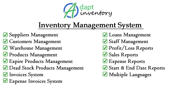 Adapt Stock Management Machine – Download