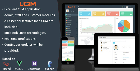 LCRM – Next skills CRM net application – Download
