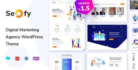Seofy – search engine optimization & Digital Marketing and marketing Company WordPress Theme – Download
