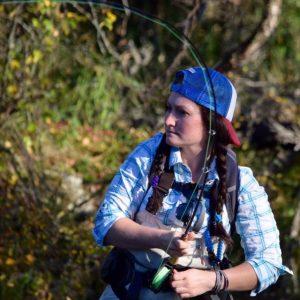 Tisa Hunnewell, Fly Fishing the Smokies Guide, Smoky Mountain Fly Fishing Guide